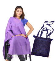 Buy Kashmiri Scarf Stole n Get Shoulder Bag Free