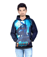 Drakeman Blue Casual Stylish Sweatshirts
