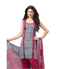 Grey colour Varsha Monsoon Salwar Suit