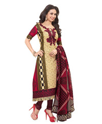 Maroon Shivani pure cotton salwar 11501