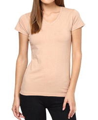 Softwear Cool Beige Plain T-Shirt