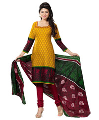 Yellow Shivani pure cotton salwar 11507